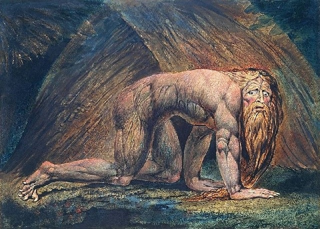 Nabucodonosor – dipinto di William Blake